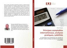 Capa do livro de Principes comptables internationaux, analyses pratiques, subtilités