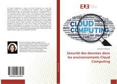 Обложка Sécurité des données dans les environnements Cloud Computing