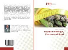 Portada del libro de Nutrition diététique, Croissance et Sport