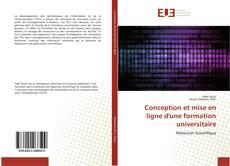 Conception et mise en ligne d'une formation universitaire的封面