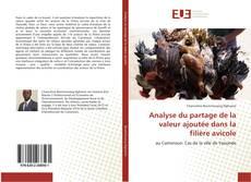 Capa do livro de Analyse du partage de la valeur ajoutée dans la filière avicole