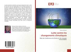 Bookcover of Lutte contre les changements climatiques