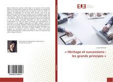 «Héritage et successions: les grands principes» kitap kapağı