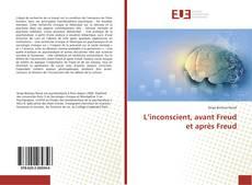 Copertina di L'inconscient, avant Freud et après Freud