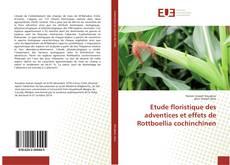 Bookcover of Etude floristique des adventices et effets de Rottboellia cochinchinen