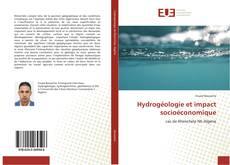 Portada del libro de Hydrogéologie et impact socioéconomique