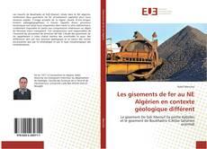 Обложка Les gisements de fer au NE Algérien en contexte géologique différent