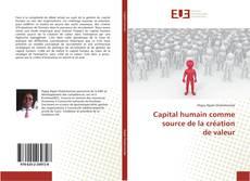 Bookcover of Capital humain comme source de la création de valeur