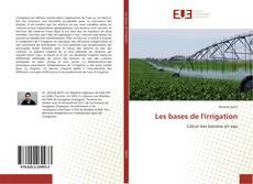 Buchcover von Les bases de l'irrigation