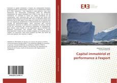 Couverture de Capital immatériel et performance à l'export