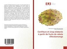 Capa do livro de Confiture et sirop élaborés à partir de fruits de raketa d'Analamanga