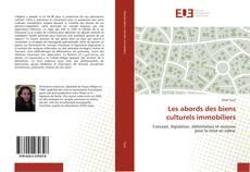 Couverture de Les abords des biens culturels immobiliers