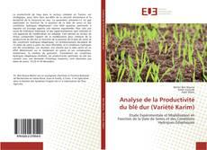 Copertina di Analyse de la Productivité du blé dur (Variété Karim)