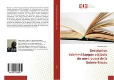 Couverture de Description édammé:langue atl.jóola du nord-ouest de la Guinée-Bissau