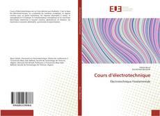 Cours d'électrotechnique kitap kapağı