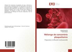 Bookcover of Mélange de concentrés plaquettaires