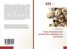 Обложка Farine d'asticots bon aliment des cailleteaux en croissance