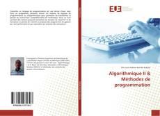 Couverture de Algorithmique II & Méthodes de programmation