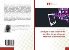 Couverture de Analyse et conception de gestion du patrimoine mobilier et immobilier