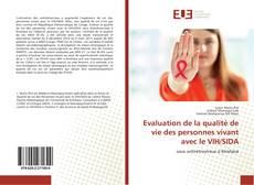 Обложка Evaluation de la qualité de vie des personnes vivant avec le VIH/SIDA