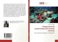 Copertina di Programme de conservation des tortues marines