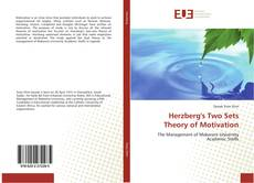 Couverture de Herzberg's Two Sets Theory of Motivation