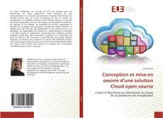 Couverture de Conception et mise en oeuvre d'une solution Cloud open source