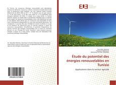 Capa do livro de Étude du potentiel des énergies renouvelables en Tunisie