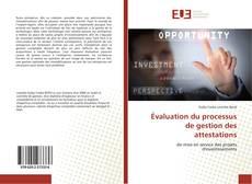 Borítókép a  Évaluation du processus de gestion des attestations - hoz