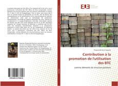 Copertina di Contribution à la promotion de l'utilisation des BTC