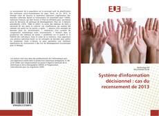 Copertina di Système d'information décisionnel : cas du recensement de 2013