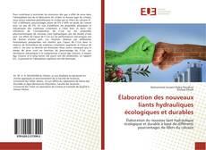 Portada del libro de Élaboration des nouveaux liants hydrauliques écologiques et durables