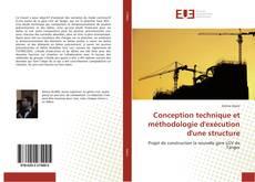 Conception technique et méthodologie d'exécution d'une structure kitap kapağı
