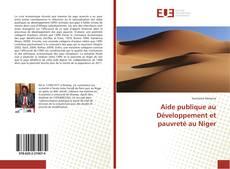 Bookcover of Aide publique au Développement et pauvreté au Niger