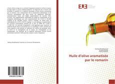 Portada del libro de Huile d'olive aromatisée par le romarin