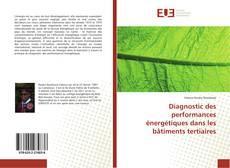 Portada del libro de Diagnostic des performances énergétiques dans les bâtiments tertiaires