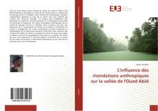 Portada del libro de L'influence des inondations anthropiques sur la vallée de l'Oued Abid