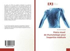 Couverture de Précis visuel de rhumatologie pour l'expertise médicale