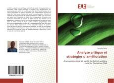 Bookcover of Analyse critique et stratégies d'amélioration