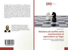 Portada del libro de Relations de conflits entre transhumants et agriculteurs au Togo: