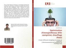 Portada del libro de Optimisation d'énergie(Réseau d'Air comprimé, chauffage d'eau)