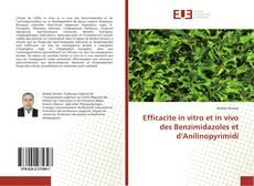Copertina di Efficacite in vitro et in vivo des Benzimidazoles et d'Anilinopyrimidi