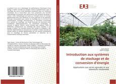 Couverture de Introduction aux systèmes de stockage et de conversion d'énergie