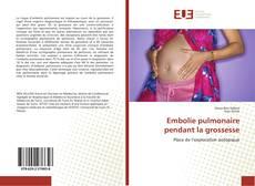 Borítókép a  Embolie pulmonaire pendant la grossesse - hoz
