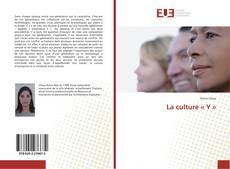 Capa do livro de La culture «Y»