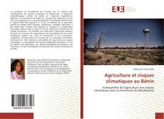 Обложка Agriculture et risques climatiques au Bénin