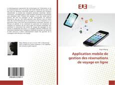 Borítókép a  Application mobile de gestion des réservations de voyage en ligne - hoz