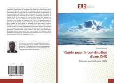 Buchcover von Guide pour la constitution d'une ONG