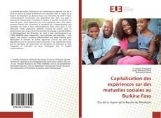 Couverture de Capitalisation des expériences sur des mutuelles sociales au Burkina Faso