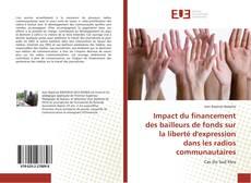 Capa do livro de Impact du financement des bailleurs de fonds sur la liberté d'expression dans les radios communautaires